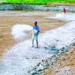 Tác dụng của vôi trong nuôi thủy sản