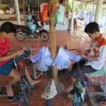 Sôi động thị trường lưới cá mùa lũ