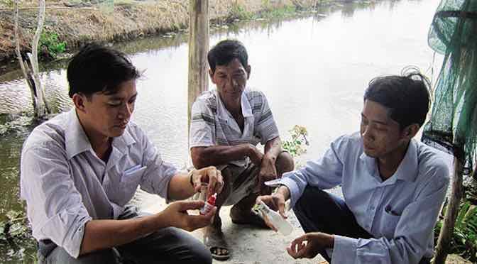 Giải pháp giảm thiểu rủi ro nuôi tôm quảng canh